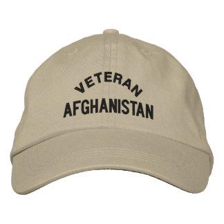 VETERAN, AFGHANISTAN EMBROIDERED HAT