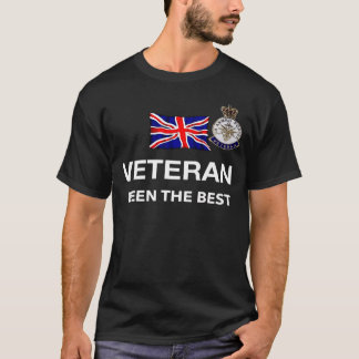 Veteran Be The Best U.K. Armed Forces T-Shirt