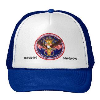 Veteran Customize Edit & Change background color Cap