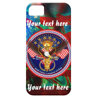 Veteran Customize Edit & Change background color iPhone 5 Cover