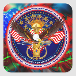 Veteran Customize Edit & Change background color Sticker
