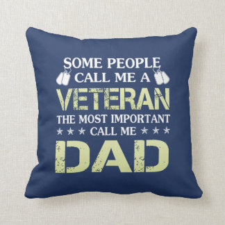Veteran Dad Cushion