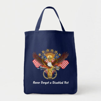 Veteran Disabled View About Design Canvas Bag