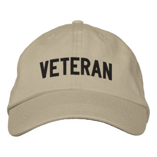 VETERAN EMBROIDERED HAT