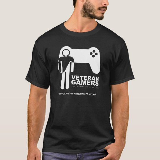 Veteran Gamers Black T-Shirt