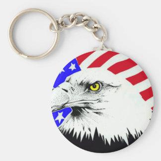 Veteran Gifts Basic Round Button Key Ring