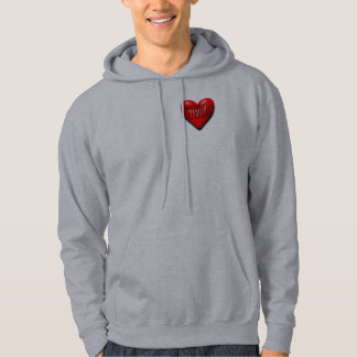 Veteran in Your Heart Hooded Sweatshirts