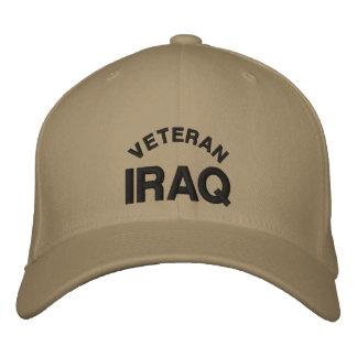 Veteran-Iraq Embroidered Baseball Cap