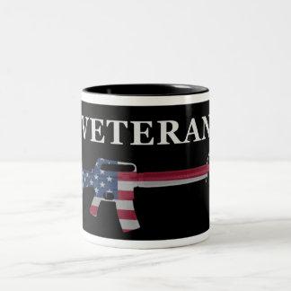 Veteran M16 Coffee Mug Black