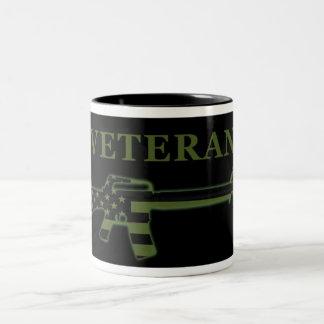 Veteran M16 Coffee Mug Subdued Black