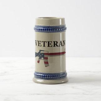 Veteran M16 Stein Beer Steins