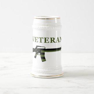Veteran M16 Stein Subdued Beer Steins