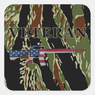 Veteran M16 Sticker Tiger Stripe