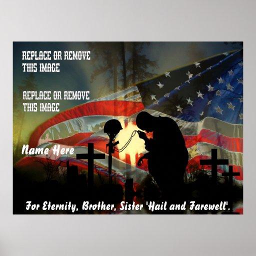 Veteran Memorial Vale of Tears Remembrance Print