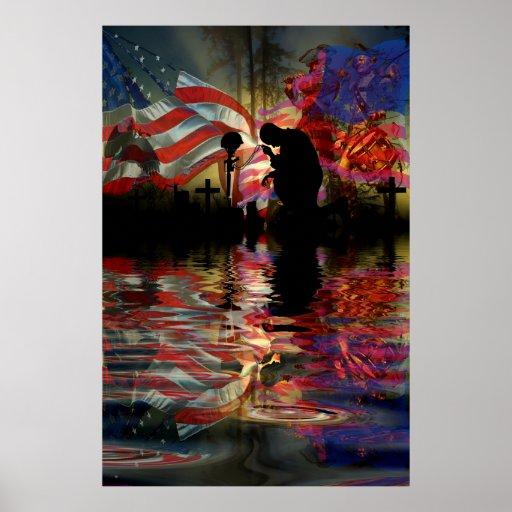 Veteran Memorial Vale of Tears Remembrance Posters