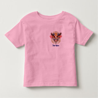 Veteran Over My Heart For Famly or Friend V-Notes Toddler T-Shirt