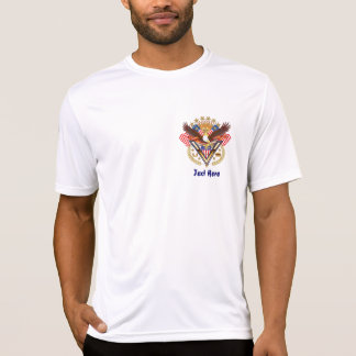 Veteran Over My Heart For Famly or Friend V-Notes Tshirt