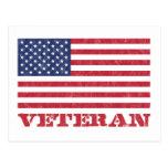 veteran postcard