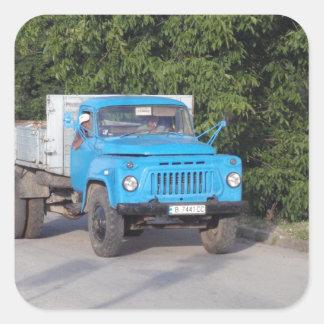 Veteran Truck Square Sticker
