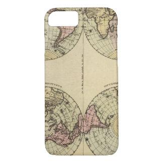 Veteran World Map 13 iPhone 7 Case