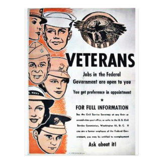 Veterans 21.5 Cm X 28 Cm Flyer