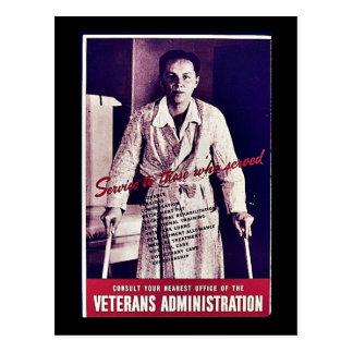 Veterans Administration Postcard