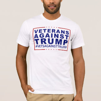 Veterans Against Trump T-shirt