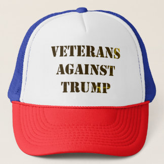 Veterans Against Trump Trucker Hat