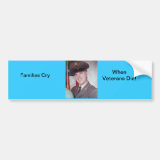 Veteran's Bumper Sticker