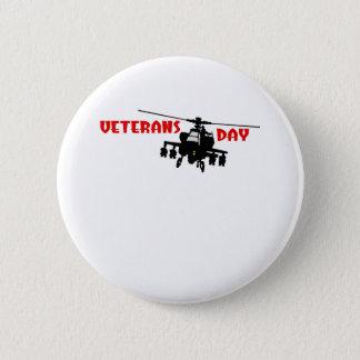 Veteran's Day 6 Cm Round Badge