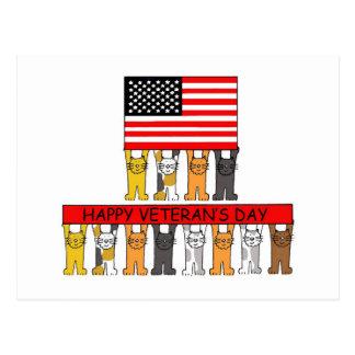 Veteran's Day cats_edited-1.jpg Postcard