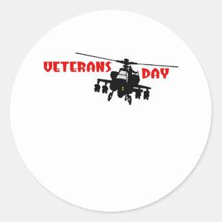 Veteran's Day Classic Round Sticker