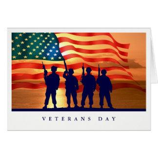 Veterans Day Custom Greeting Cards