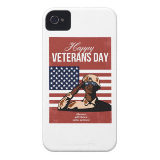 Veterans Day Greeting Card American Blackberry Cases