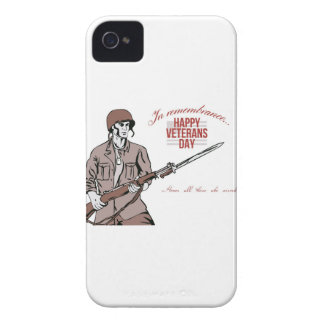 Veterans Day Greeting Card American Soldier Blackberry Bold Cases