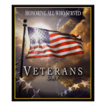 Veterans Day - Honouring All Who Served Poster