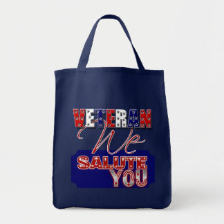 Veteran's day memorial war soldier canvas bag