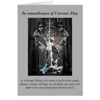 Veteran's Day Prayer Note Card