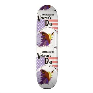 Veteran's Day Skateboard