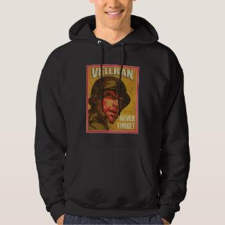 Veteran's Day - Veteran - Never forget Hooded Sweatshirts