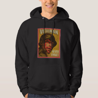 Veteran's Day - Veteran - Never forget Hoodie