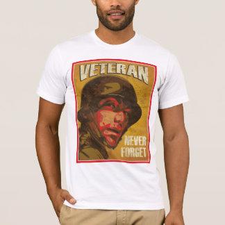 Veteran's Day - Veteran - Never forget T-Shirt