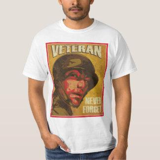Veteran's Day - Veteran - Never Forget Tshirt
