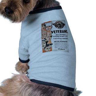 Veterans Ringer Dog Shirt