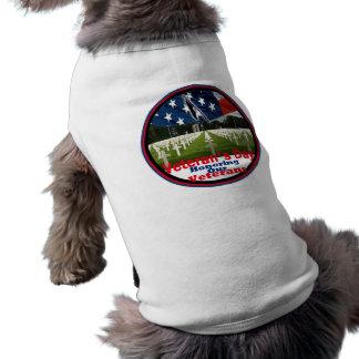 Veterans Sleeveless Dog Shirt