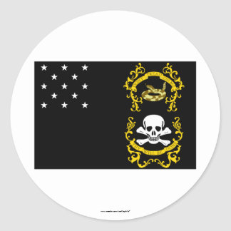 Veterans Exempt Flag Stickers