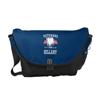 VETERANS FOR HILLARY COURIER BAG