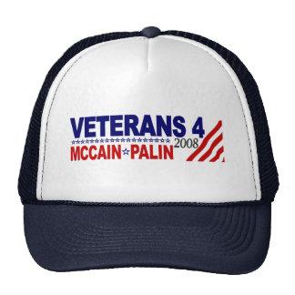 Veterans for McCain Palin 2008 Mesh Hat