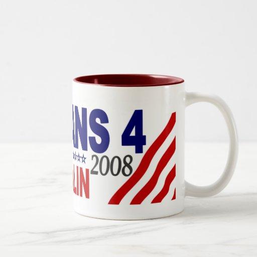 Veterans for McCain Palin 2008 Mug