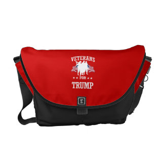 VETERANS FOR TRUMP MESSENGER BAG